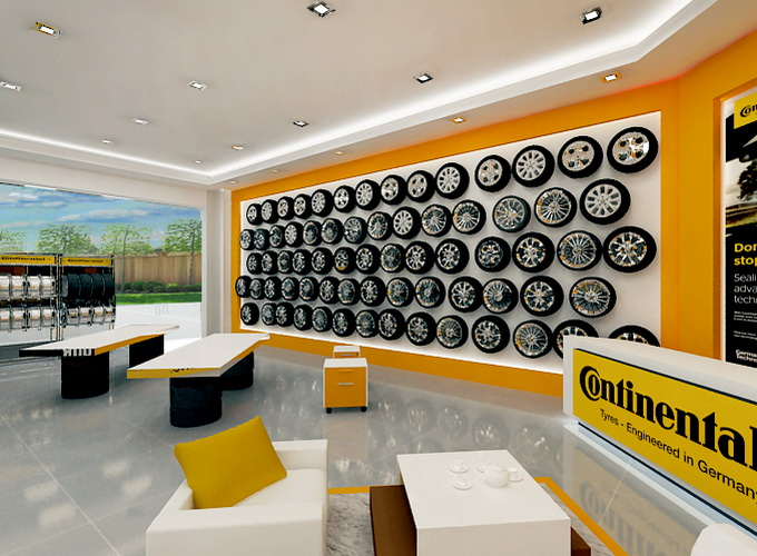continental showroom