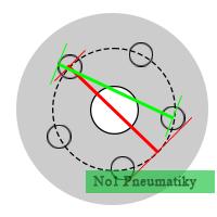 Ako zmerať rozteč diskov