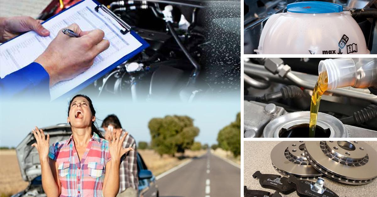 Sedem vecí, ktoré skontrolujte na aute pred dovolenkou