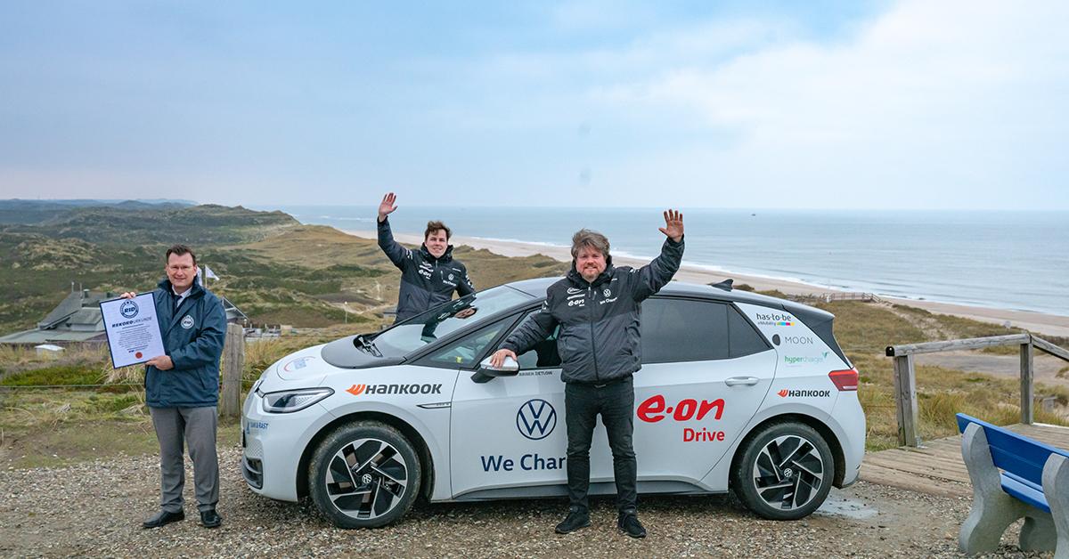ID. 3 Volkswagen - Hankook Winter i*cept evo 3 nový světový rekord